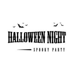 Happy Halloween day design background