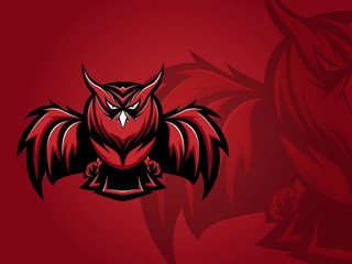 Owls E-Sport Logo, The Mighty Owl