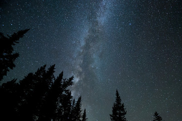 Milky Way above Colorado