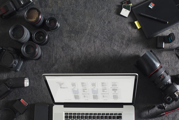 Photographer's Workspace
