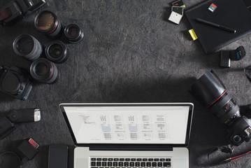 Photographer's Workspace