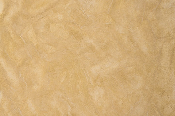 background plastered texture sand color. artistic background handmade