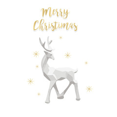 Elegant Christmas background with shining gold glittering snowflakes background