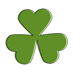 leaf clover plant icon