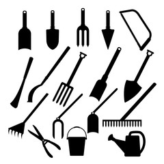 Vector of Gardening and Agriculture Icons set