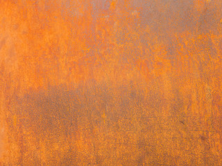 Rust surface. Close up rust on an old sheet of metal texture. High quality grunge rusty old and dirty metal plate. Iron surface full area. - background pattern.