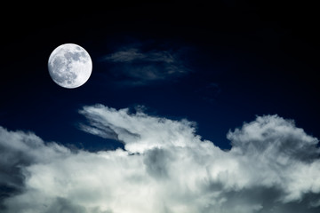 big moon background night sky no photo by nasa