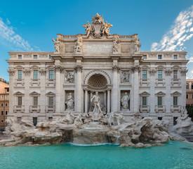 Fond de hotte en verre imprimé Rome Fountain di Trevi
