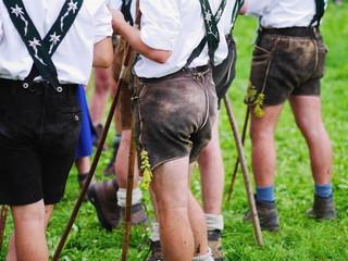 Bavarian Cowboys at Almabtrieb