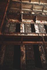 Old prison cells