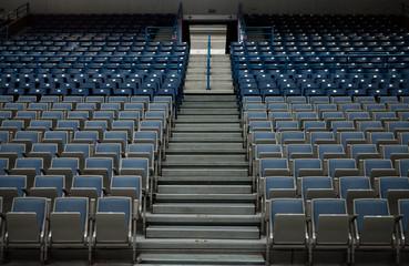 Empty sports arena.