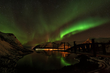 Lofoten Islands Northern Lights Aurora Borealis Norway