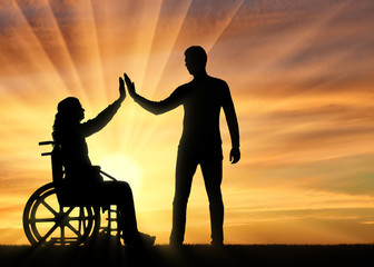 Concept of support and assistance to people with disabilities