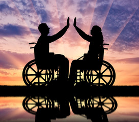 Concept of mutual aid people with disabilities