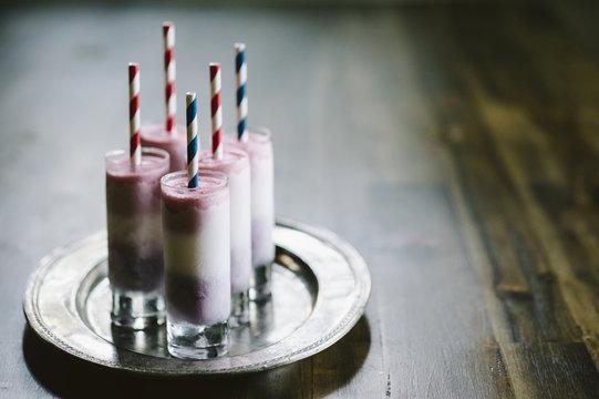 Homemade Frozen Yogurt Fruit Pops