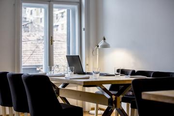 Modern office space interior