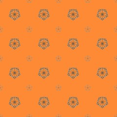 A seamless 3d pattern in a retro geometric style.