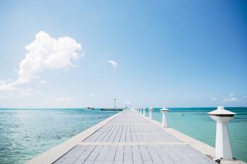 caribbean ocean walk way