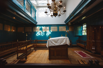 Tuinposter Restaurant The Portugese Synagogue, Amsterdam
