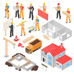 Construction Isometric Set