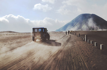 Traveling and exploring Indonesian volcanoes