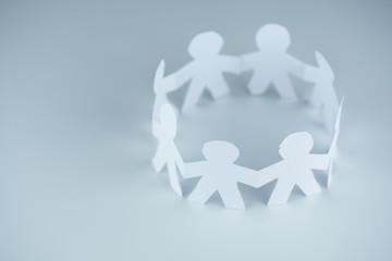 Circle Human Chain