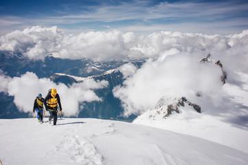 Mountaineering team