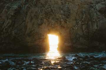 Light Portal at Beach