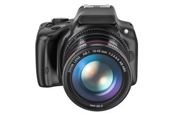 Digital single-lens reflex camera, 3D rendering