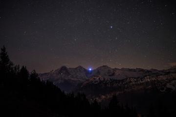 Eiger Mönch Jungfrau Bern Schweiz