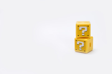 question, isolated, block, help, mark, symbol, sign, confusion, decision, punctuation, uncertainty, assistance, cube, asking, problems, q and a, question mark, brick, problem, marketing, ideas, soluti