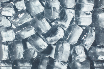Ice cube background.