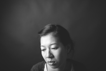 portrait of a taiwanese girl