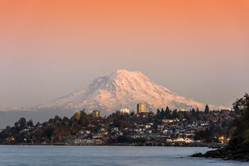 Mt.Rainier view from Tacoma, WA