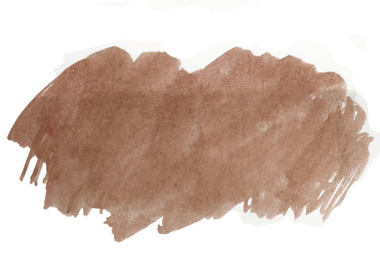 brown watercolor stain with texture