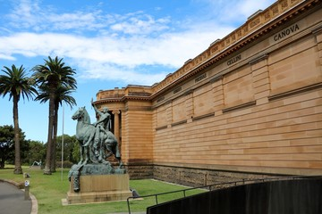 Art Gallery of New South Wales in Sydney Australia