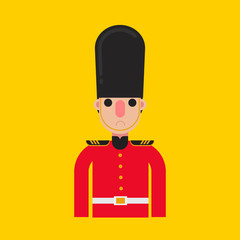 England soldier icon.