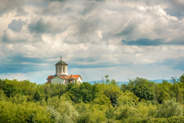 Church of the Holy Archangels Michael and Gabriel in Deligrad from Serbia