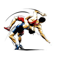wrestling action 3