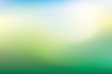 blurry land