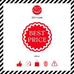 Best Price label icon