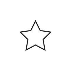 Star Icon Vector Isolated