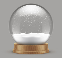 Fototapeta Boule à neige vectorielle 5 obraz
