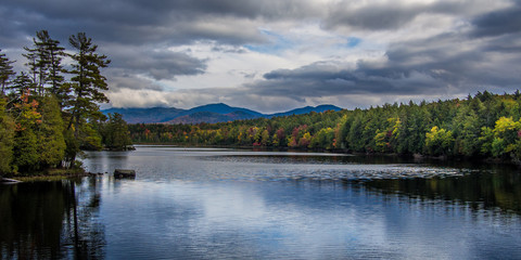 Fall in Adirondack Mountains