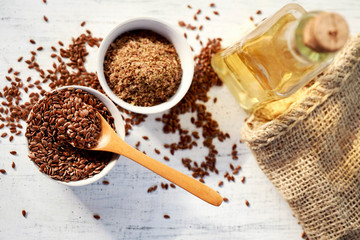 organic products of flax seed