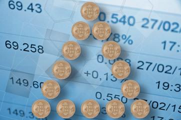 Bitcoin pyramid.