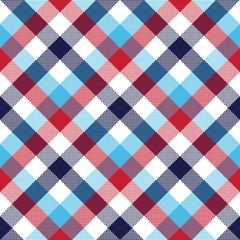 Check pixel plaid seamless pattern
