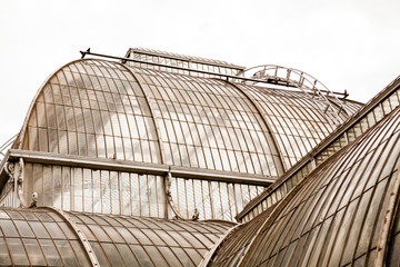 View from Kew Gardens, Royal Botanical Gardens in London