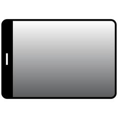 Tablet vector illustration