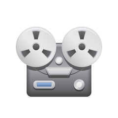 Reel Tape Recorder - Novo Icons . A professional, pixel-aligned icon designed on a 64 x 64 pixel.